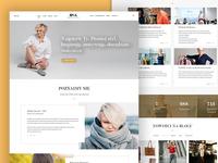 Web page for Osa - Monika Jurczyk