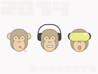 2019s 3 Monkeys