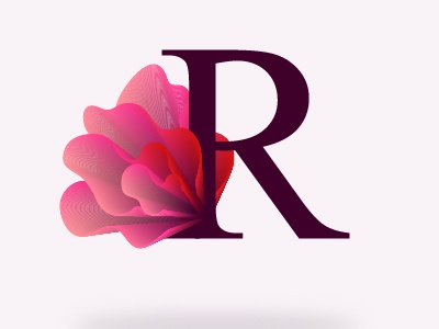 Letter R By Iryna Korshak