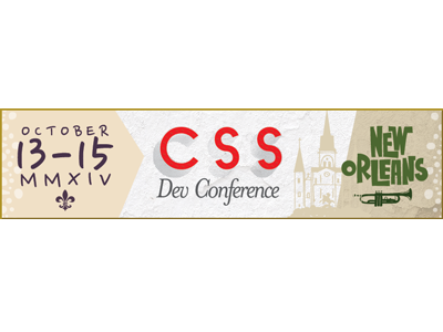 CSS Dev Conf 2014 Banner Ad banner ad