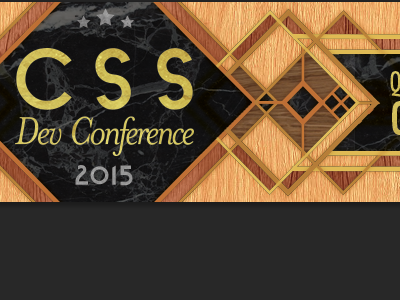 CSS Dev Conf 2015 Ad banner