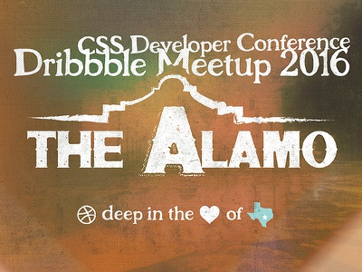 CSS Dev Conf Dribbble Meetup 2016