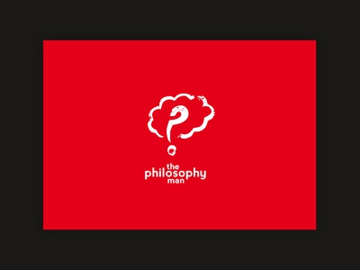 The Philosophy Man (Branding & Book Design)