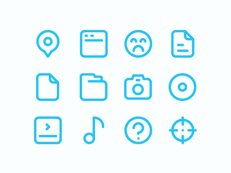100 Free Essential icon set for designer download app free vector symbol website ui color line outline illustration icon