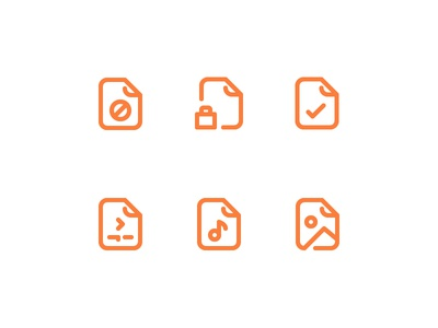 File and Document icon