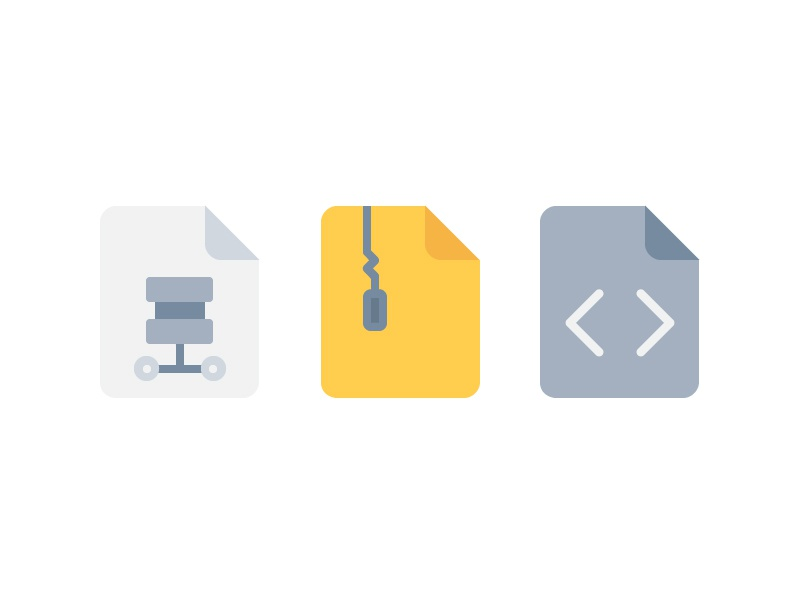 File and Document icon icon illustration outline color line ui website symbol vector