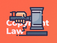 Copyright Law (c) Icon Set