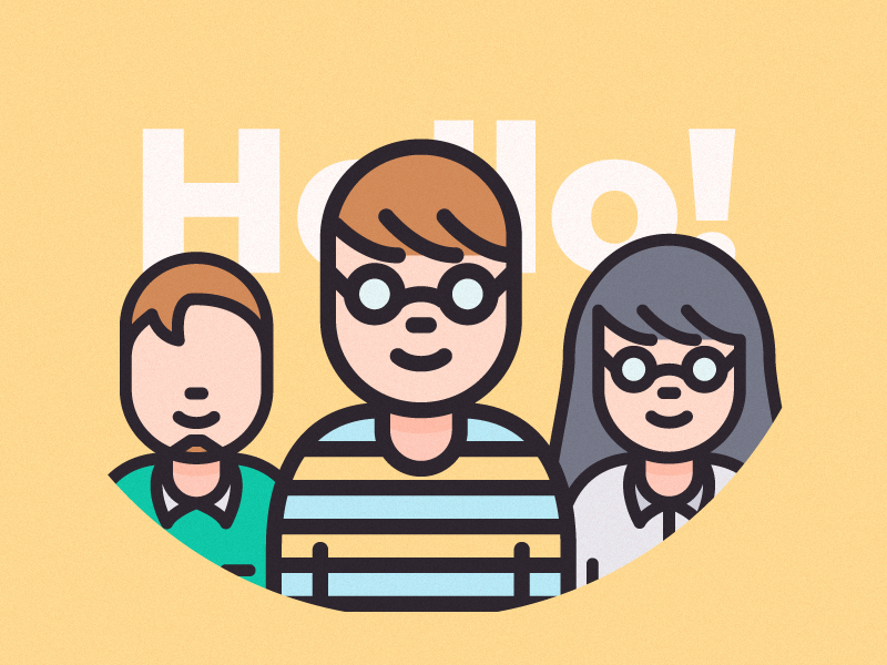 Business People and Avatar Characters by Justicon on Dribbble