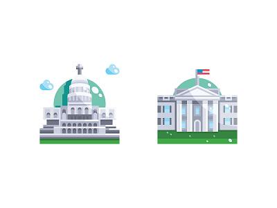 USA Landmark cityscape city building united states monument usa landmarks landmark download vector symbol illustration icon
