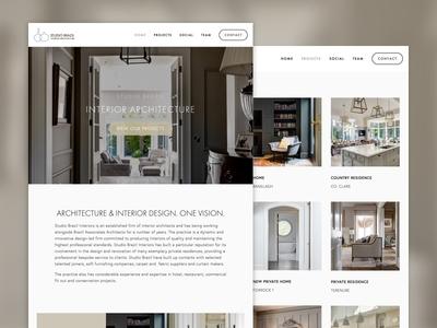 Interior Design Web Site