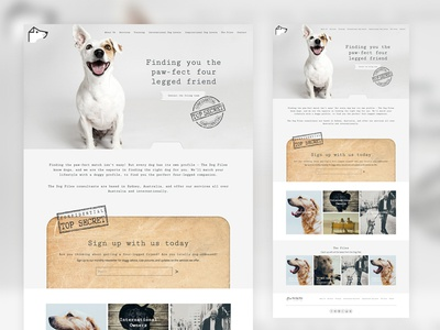 The Dog Files Website