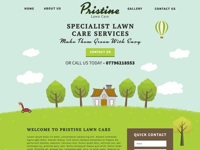 Pristine Lawn Care WIP