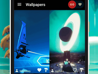 No Man's Wallpaper - Android App favorites animation wallpapers wallpaper android app no mans sky open source app android