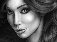 Yasmine Petty Pencil Drawing