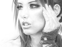 Liz Katz Pencil Drawing