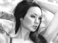 Alexandra aka StarFucked Pencil Drawing