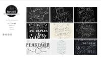 Paper Cut Website