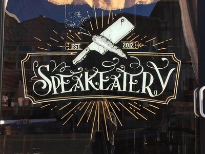 Window Design @thespeakeatery
