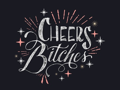 Cheers!! cheers pen pencil sketch drawn hand lettering type lettering