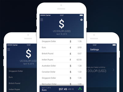 Currency Converting App
