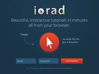 Iorad Landing Page
