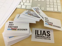 Business Cards - Ilias Ismanalijev