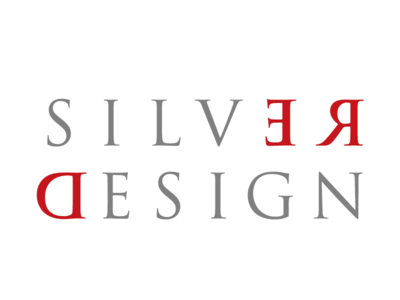 Final Red Silver Design Logo