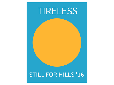 TIRELESS—Minimalist Hills #2