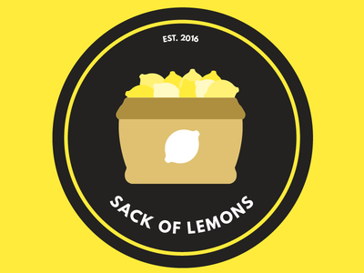 Daily UI | #084 | Badge lemon badge 84 dailyui