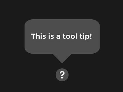 Daily UI | #087 | Tooltip tooltip 87 dailyui