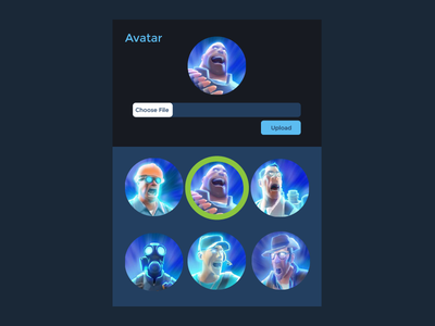 Daily UI   #088   Avatar avatar 88 dailyui