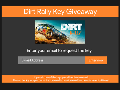 Daily UI | #097 | Giveaway giveaway 97 dailyui