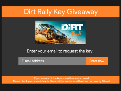 Daily UI   #097   Giveaway giveaway 97 dailyui