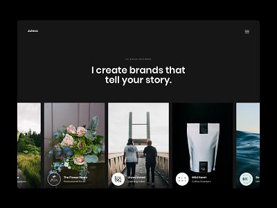 Juleco Website Concept web design creative design brand