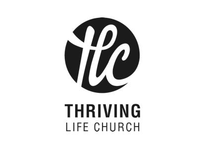 Thriving Life Church church brand logo