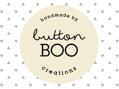 Button Boo Creations Logo Concept brand logo