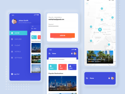 TravoSpace web icon travel app promotion branding app screen app ui mobile app travel