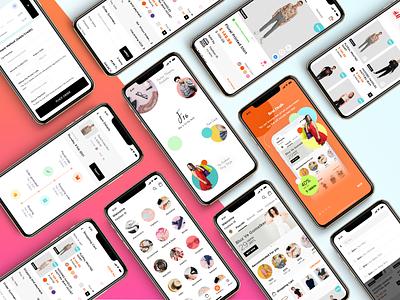 F16 - An eCommerce App ecommerce ui kit app screens ui app design app ui mobile app ecommerce business ecommerce design ecommerce app ecommerce