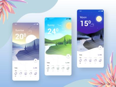 WeatherTap weather mobile app weather app branding app mobile app