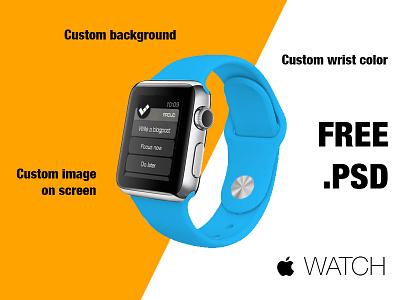  WATCH Mockup Kit | Free .PSD watch apple watch mockup kit free psd download iwatch applewatch