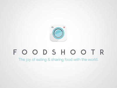 Foodshootr Re-Launch Logo