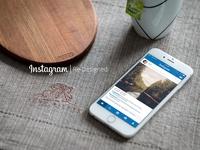 Instagram Home Feed