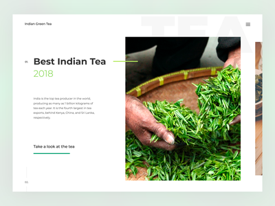 Indian tea ui  ux design awards figma leaf tea web-design website type web branding ux ui design
