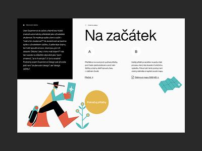 Short UX Stories Website Content illustration website minimal white web ux flat type minimalism branding typography design