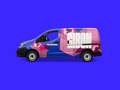Gibon Delivery Branding – Van Design