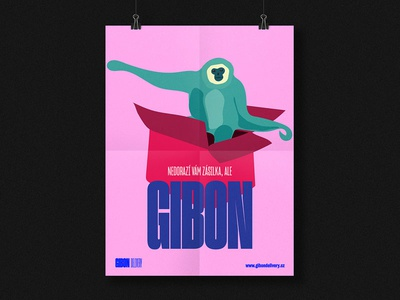 Gibon Delivery Branding – Posters