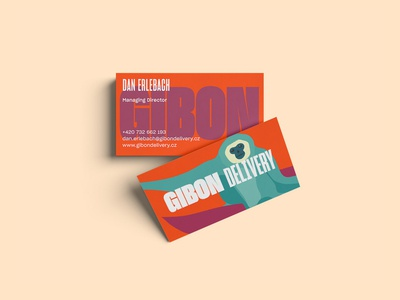 Gibon Delivery Branding – Cards