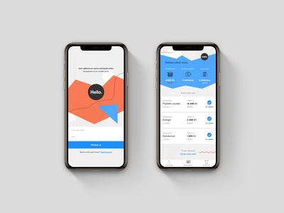 Insurance App Login & Dashboard