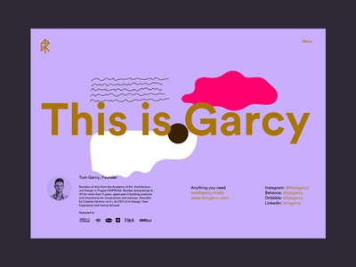 This is Garcy Website contact page #2