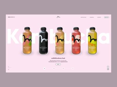 Magu Kombucha Branding & Website